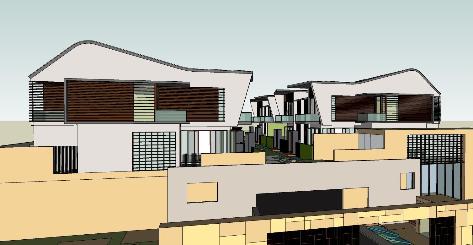 landed house design