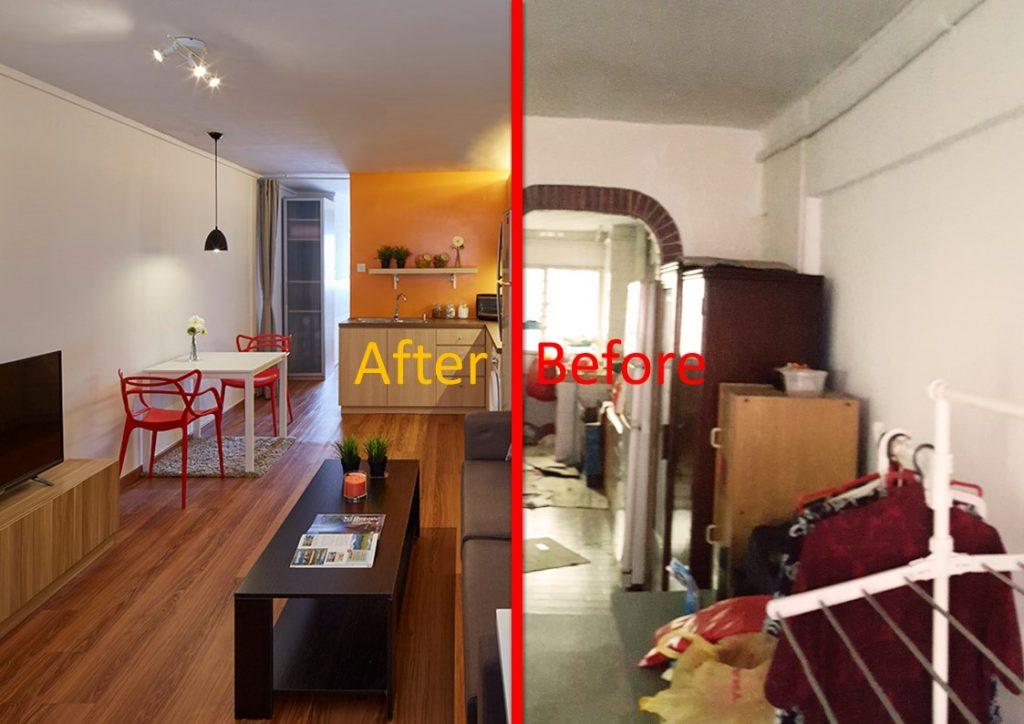 interior design for small space